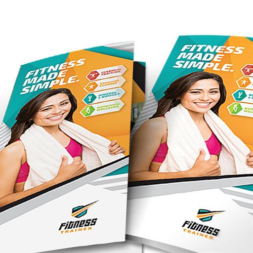 Брошюры для фитнес центра