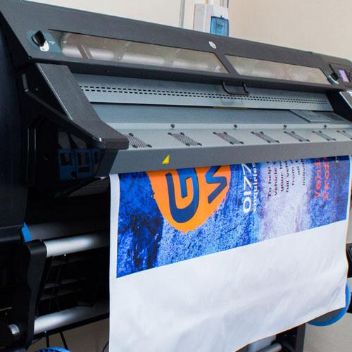 Цифровая печать баннера