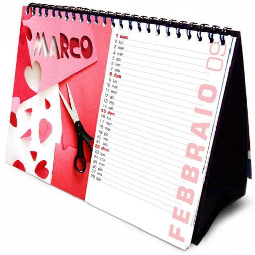 Печать календаря домика