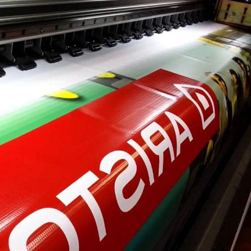 Печать рекламного баннера Ariston