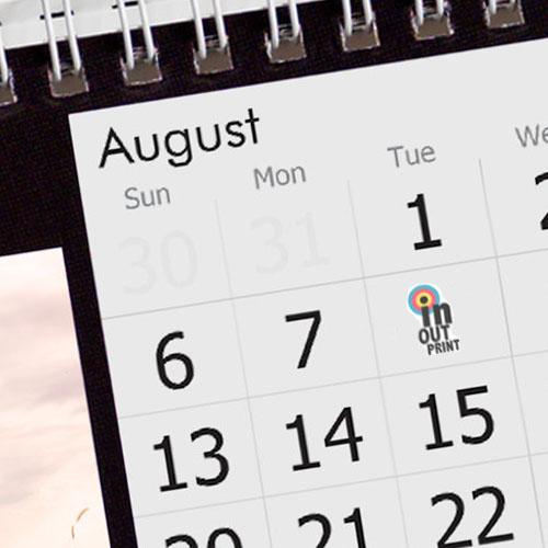 Перекидной календарь настольный