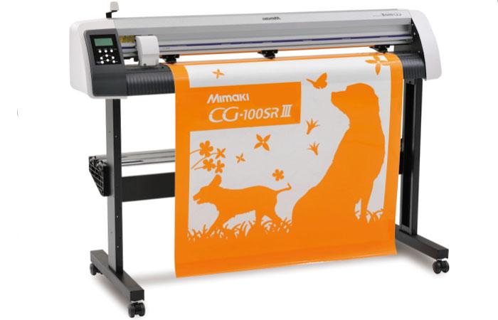 Плоттер (сольвентный принтер) Mimaki CG-100 SR II