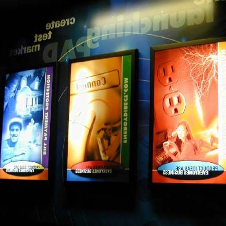 Рекламные щиты из бэклита